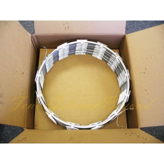 "18"" Razor Wire Galvanized Steel 1 Roll"